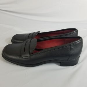 Tommy Hilfiger Womens Mary Jane Block Heels Sz 7M